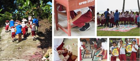 Edukasi Bencana di Pesisir Selatan Lombok