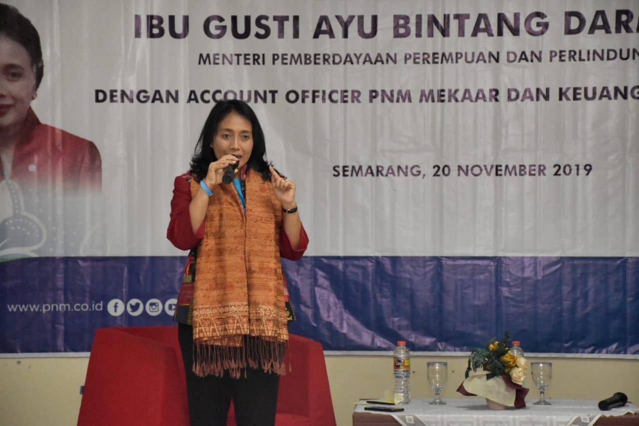 Kementrian PPPA Gandeng PNM Dalam Memberdayakan Perempuan