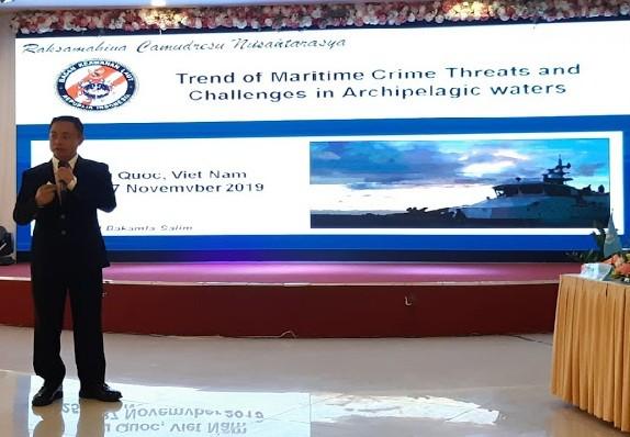 Bakamla Tanggulangi Kejahatan Maritim di Wilayah Perairan Kepulauan