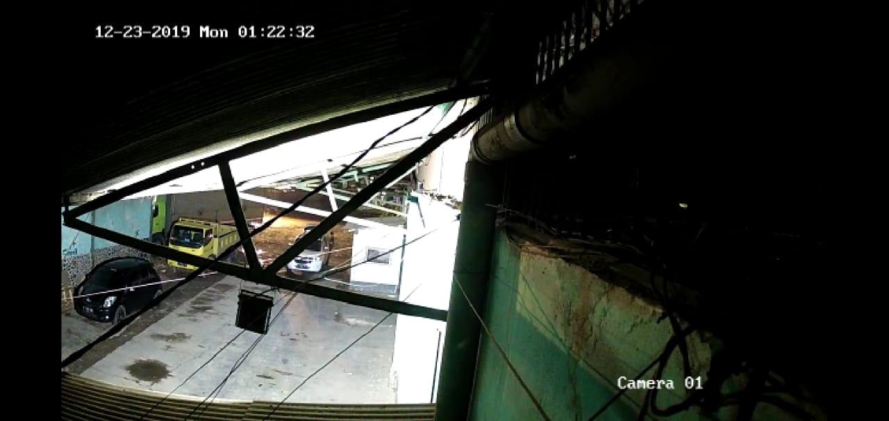 Berkat CCTV Sindikat Pembobol Gudang Terbongkar