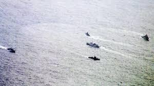 KRI Kembali Mengusir Konvoi Kapal Nelayan China Masuki Perairan Natuna