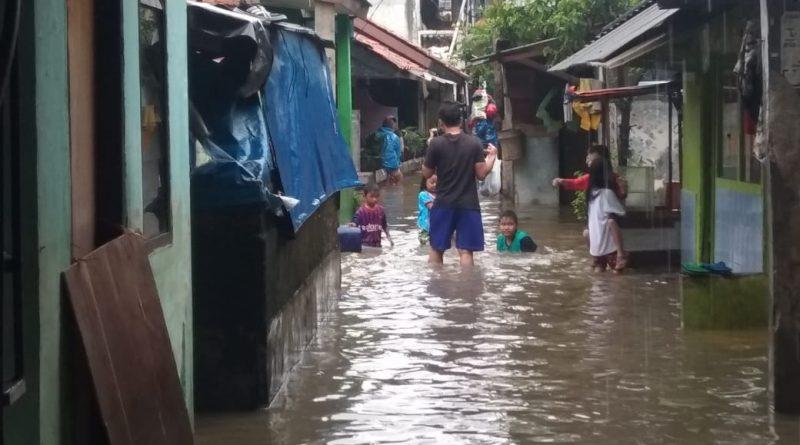 Kampung Duri RW 14 Jakbar Kembali Terendam Banjir