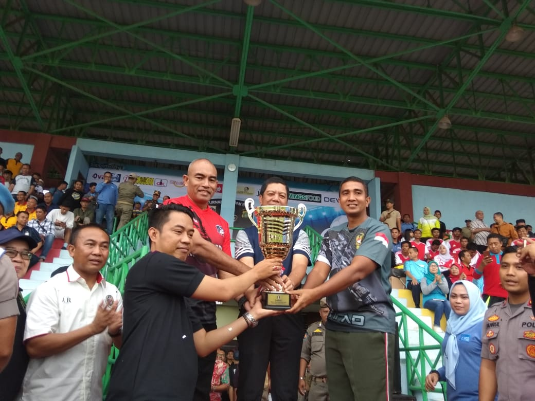 Mempererat Sinergitas Instansi, Polri dan TNI, Turnamen Tiga Pilar Cup 2020 Jakarta Barat Digelar