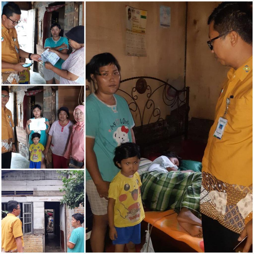 RPN Kembali Peduli Pasien Tidak Mampu, Bantu Pengurusan Pengobatan Dengan JKN Atas Bantuan Presiden Jokowi, Menkes dan BPJS Kesehatan