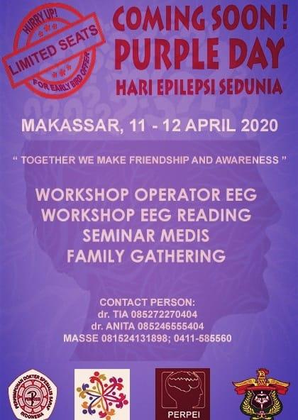 Membangun Kesadaran Tentang Epilepsi Perpei Makassar Bersama Komunitas Peduli Epilepsi Akan Gelar Berbagai Kegiatan