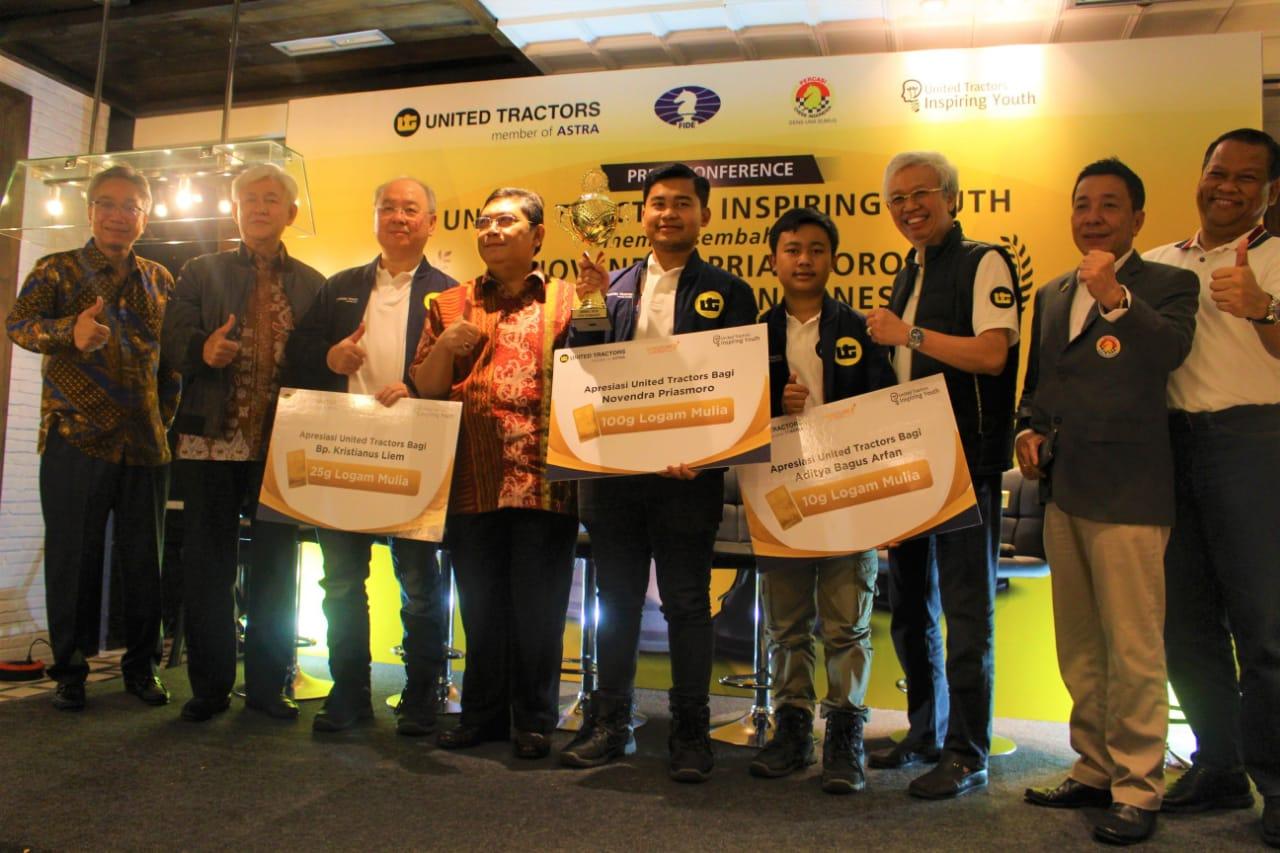 Grandmaster Catur ke-8 Indonesia Tercetak