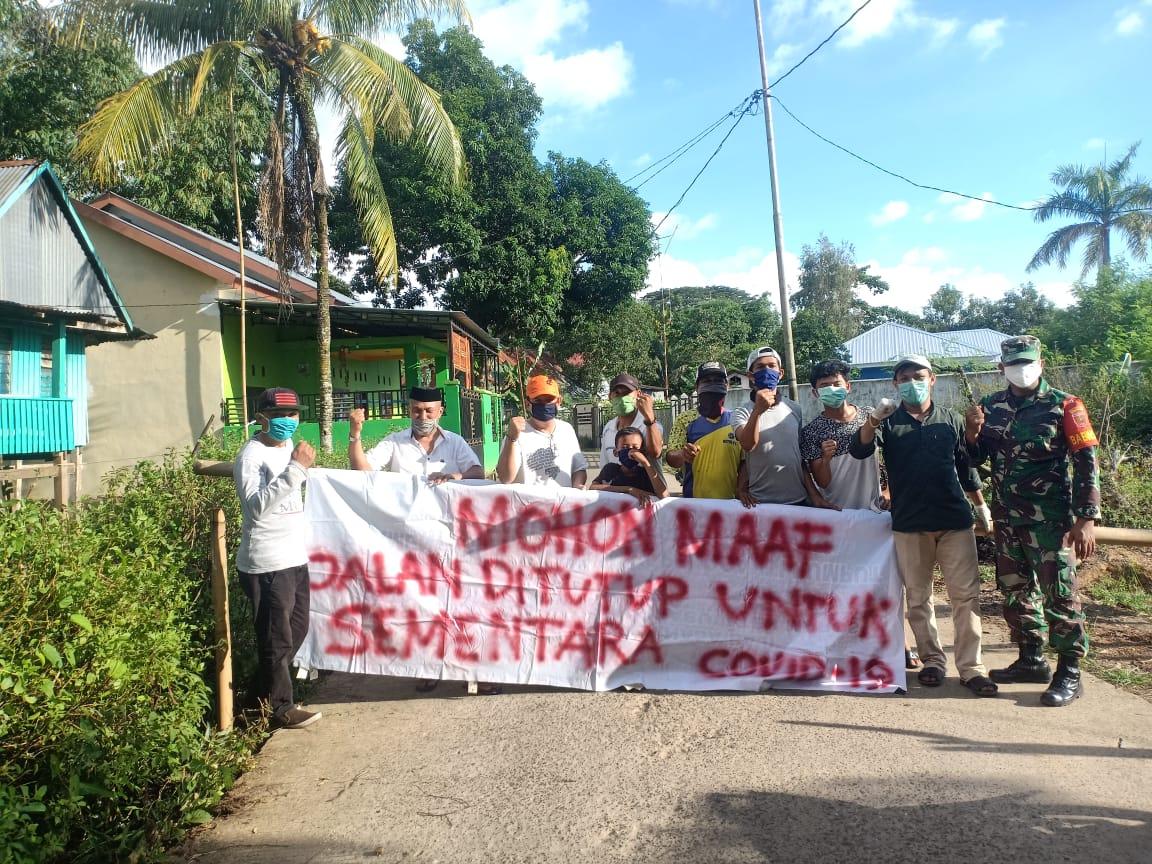 Antisipasi Penyebaran Covid-19, Tiga Pilar Desa Minasa Baji Lakukan Isolasi Mandiri
