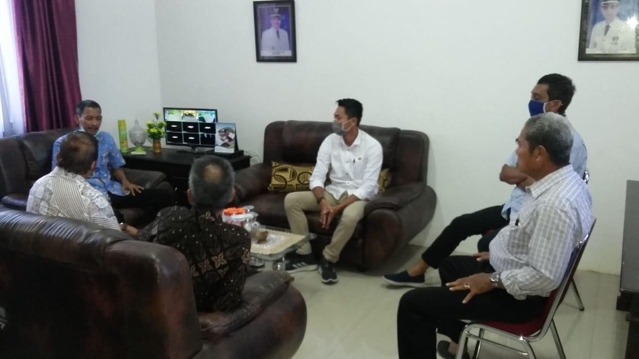 Anggota DPRD Dapil 2 Maros Kunker ke Kantor Kecamatan Lau