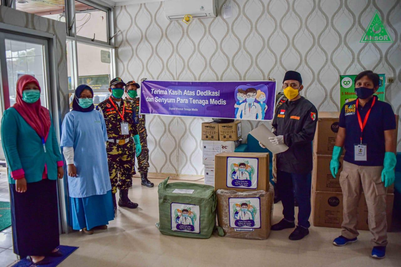 AICE Group Bersama GP Ansor Gelar Misi Kemanusiaan