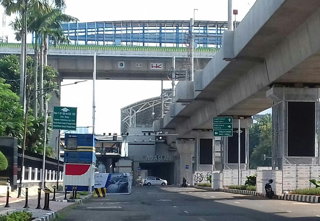 Stasiun MRT Haji Nawi, Blok A, dan ASEAN Ditutup Mulai Hari Ini Terapkan PSBB