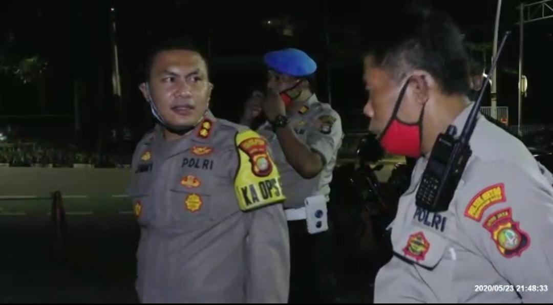 Kapolsek Kebayoran BaruPimpin Operasi Ketupat Jaya 2020 dan Pengamanan Ramadhan dan I'dul Fitri 1441 H