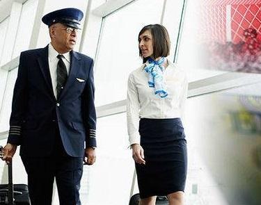 """Pilot dan Pramugari Mendadak """"Terguncang"""" Akibat Penerbangan Ditutup"""