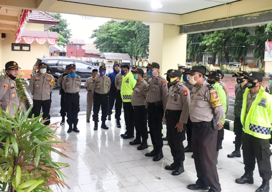 Polres Bantaeng Koordinasikan ke Pemkab Bantaeng Terkait Dapur Umum dan Pengungsian