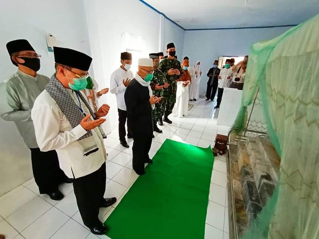 Bupati Bersama Forkopimda Berziarah ke Makam Bersejarah Peringati Hari Jadi Kabupaten Majalengka ke- 530
