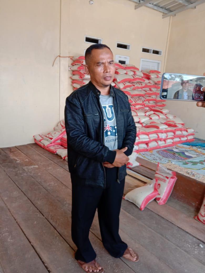 Ketua DPC Forkowap Lambar Mengklarifikasi Terkait Beredar Kabar Paket Sembako Rusak