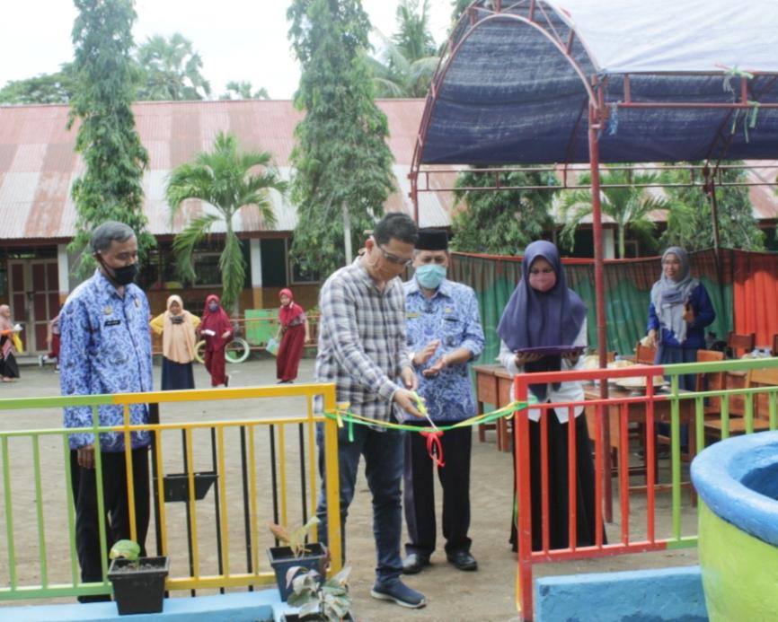 Kadis Pendidikan Kab.Maros Resmikan Taman Baca SD 173 Inpres Mangngai dan Rumah Dongeng Chapter