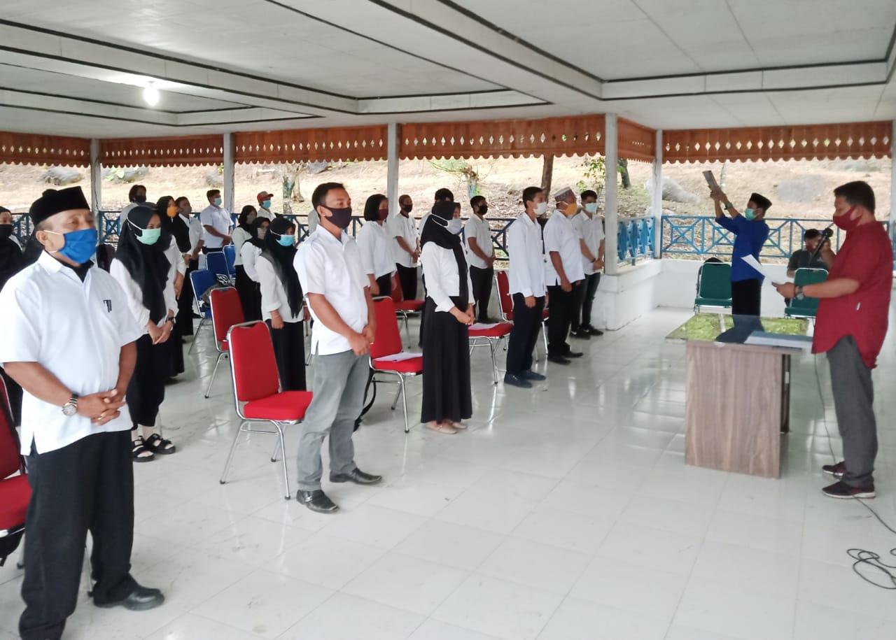 Sebanyak 309 Anggota PPS Hari ini Serentak Dilantik oleh KPU Kabupaten Maros