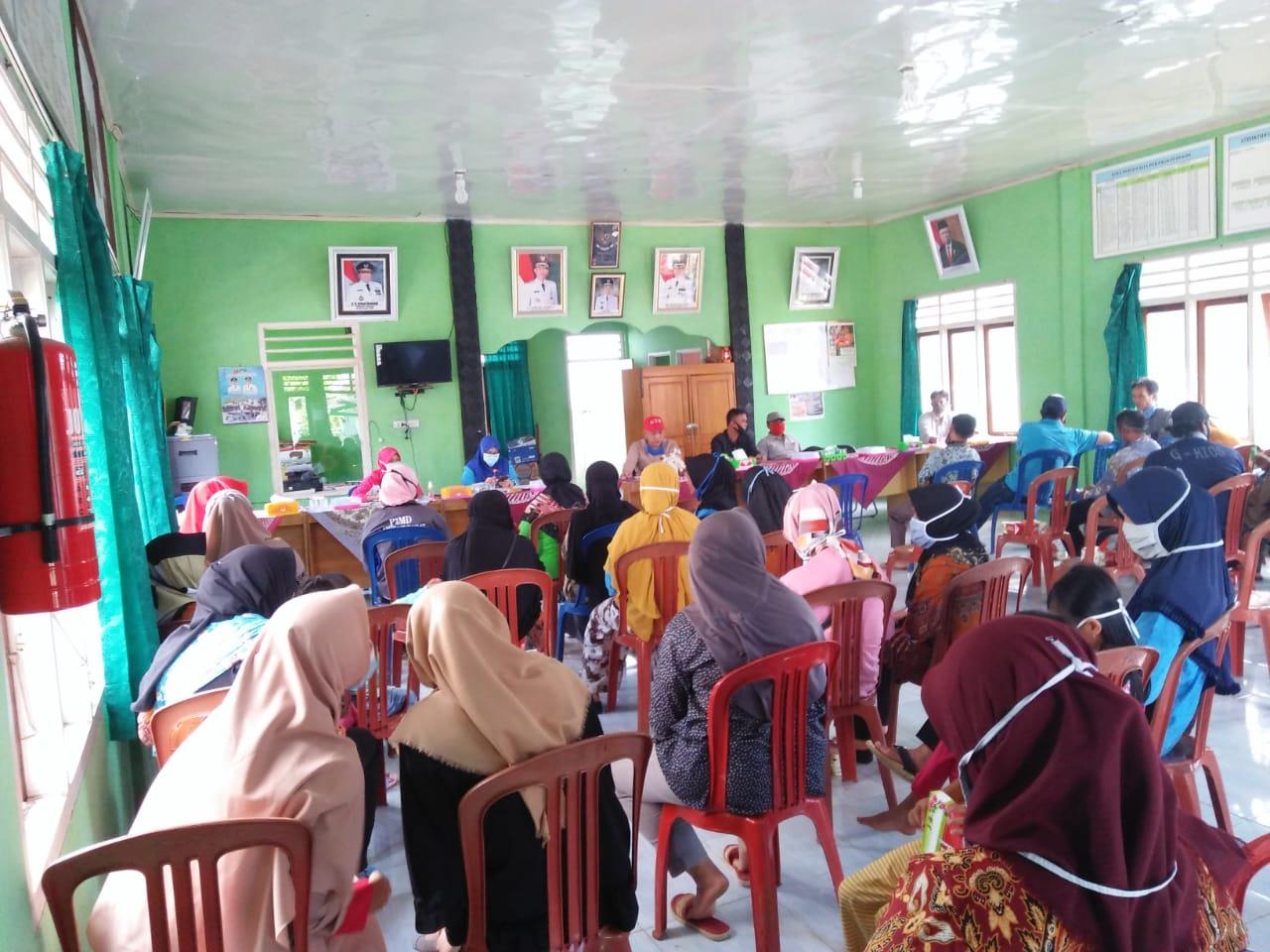 Pekon Sukarami Kecamatan Balik Bukit Gelar Sosialiasi Covid-19 Terkait Pemahaman New Normal