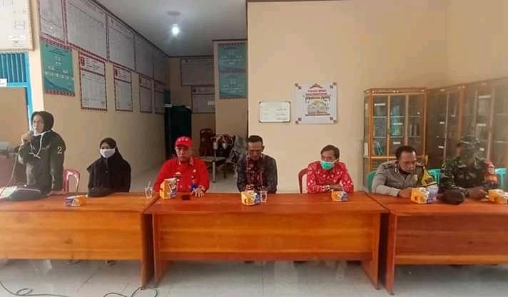 Pekon Padang Dalom Gelar Sosialisai terkait Covid-19