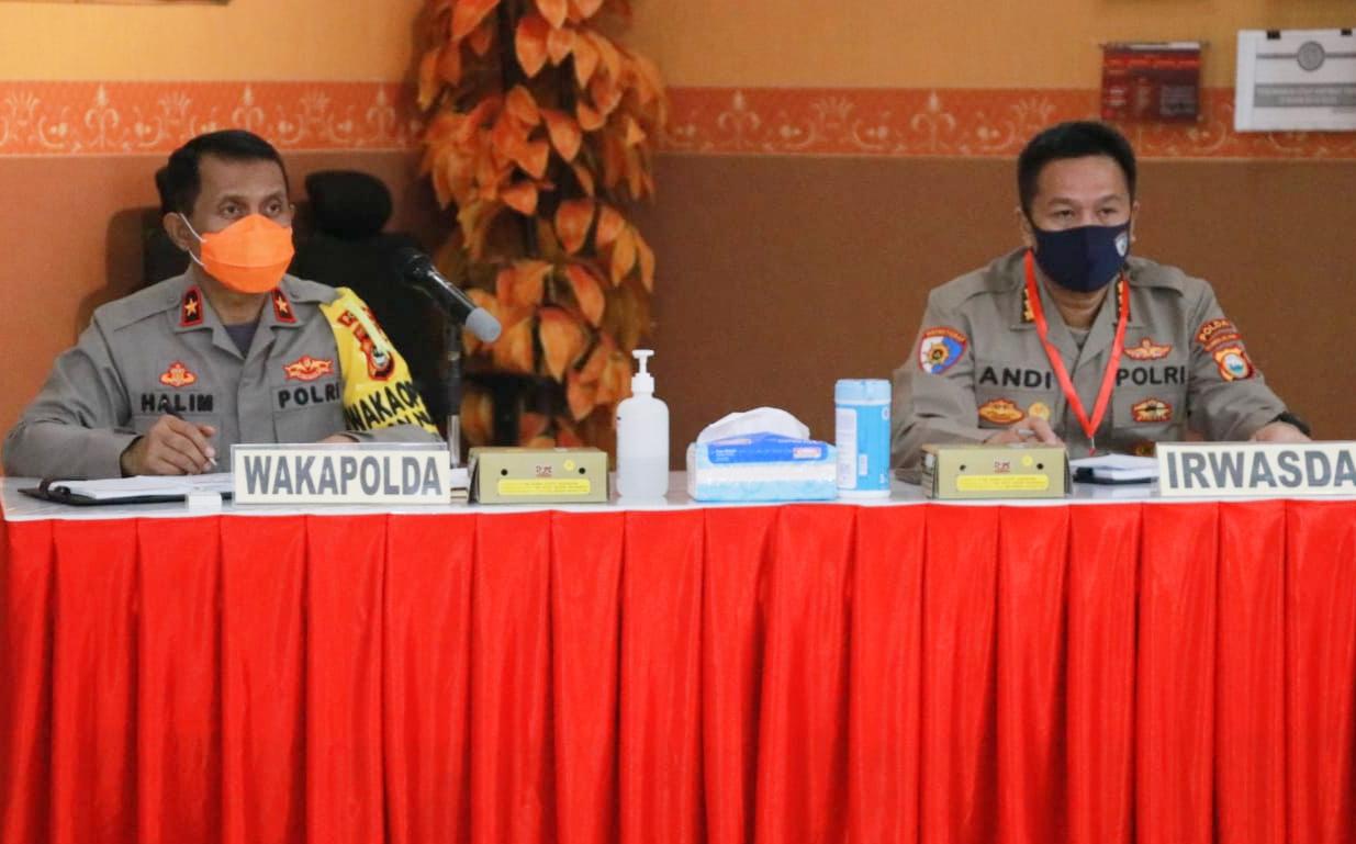 Wakapolda Sulsel Pimpin Rapat Bahas Penertiban Aspol Mappaoddang Makassar