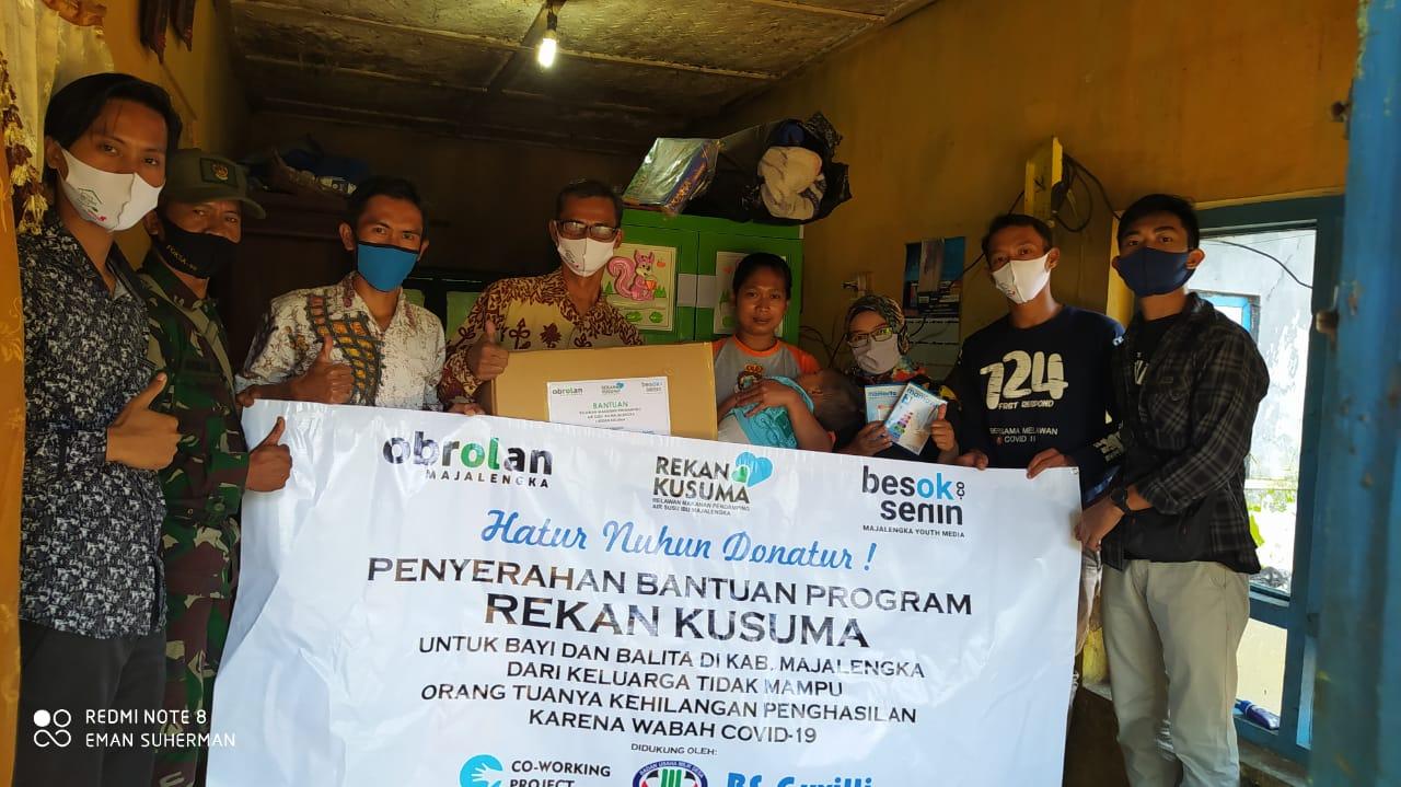 Relawan Rekan Kusuma Membantu Balita Kekurangan Gizi, Butuhkan Bantuan Donasi dari Masyarakat