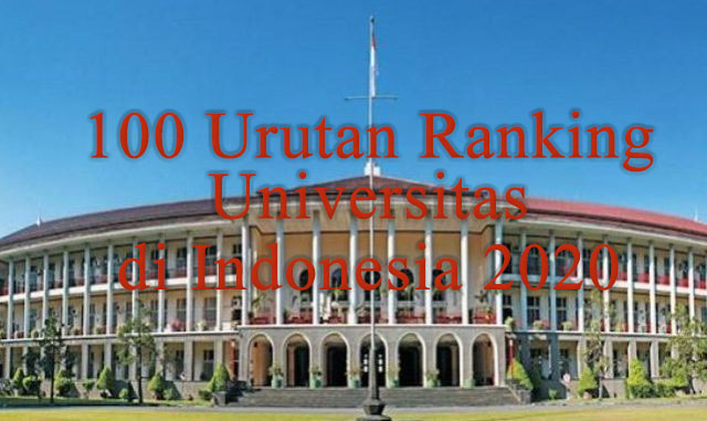 4ICU Rilis 100 Urutan Universitas Indonesia 2020