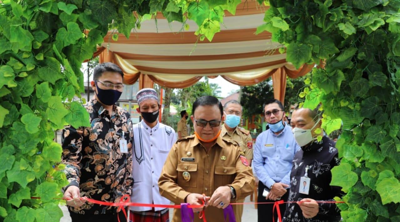 Wabup Lambar Resmikan Kantor Kas Bank Lampung