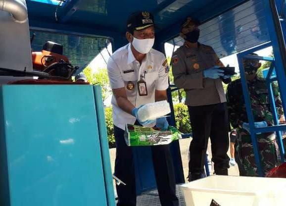 Walkot Jakbar Turut Ikut Musnahkan Barbuk Narkoba di Polrestro Jakbar