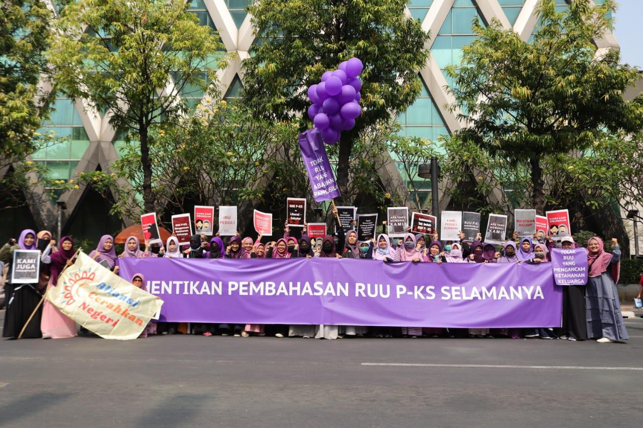 Dukungan Aliansi Cerahkan Negeri Agar DPR Keluarkan RUU P-KS Dari Prolegnas Selamanya