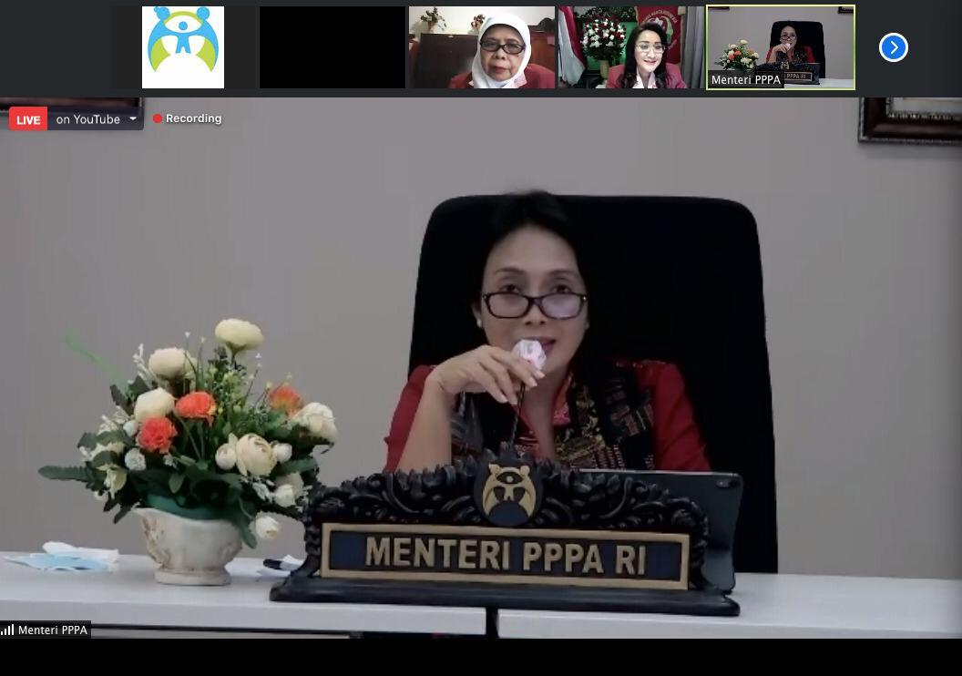 Suara Anak Indonesia 2020 Salurkan Aspirasinya Kepada Menteri PPPA