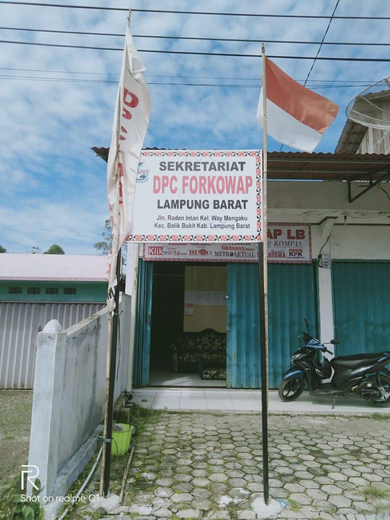 DPC Forkowap Lambar Awasi Aliran Dana Covid-19 Kab.Lampung Barat Menelan Dana Milyaran Rupiah