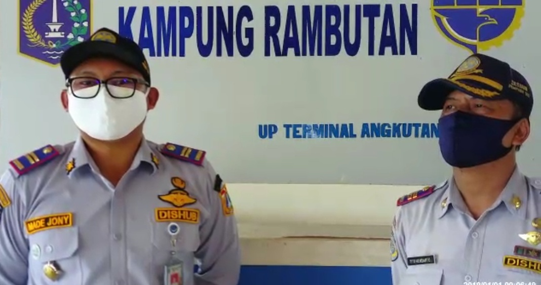 Dimasa PSBB Transisi Terminal Bus Kampung Rambutan Masih Sepi Penumpang