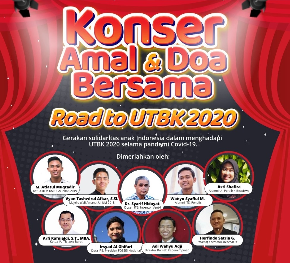 Konser Amal dan Doa: Road To UTBK 2020 Digelar Nurul Fikri
