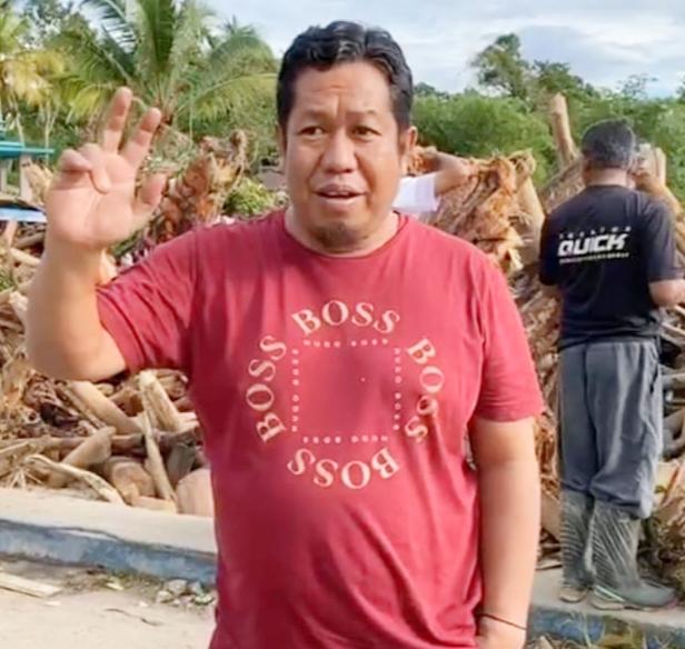 WF Community Tompo Bulu Bantu Korban Banjir di Luwu Utara