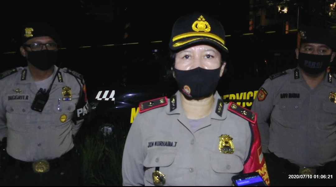 Ciptakan Keamanan, Kompol Jun Nurhaida Pimpin Operasi Cipkon Aman Nusa 2 Polsek Kebayoran Baru