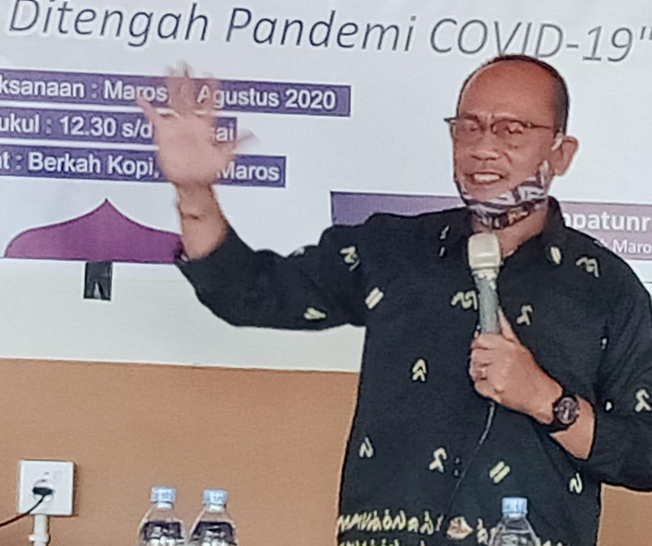 Anggota MPR RI, DR.H Ajiep Padindang Hadiri Simposium Hak Anak di Kabupaten Maros