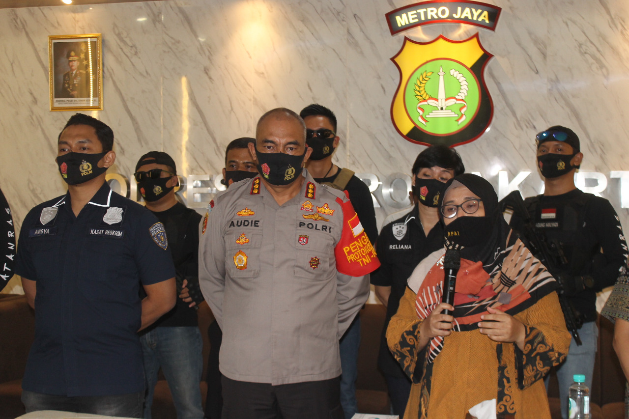 Anak Tetangga Dibawah Umur Dibawa Kabur, Wawan Dicokok Polres Metro Jakarta Barat