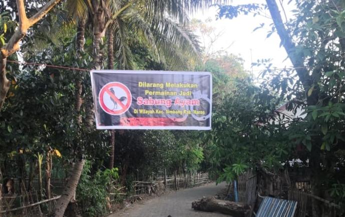 Warga Desa Tanete Kecamatan Simbang Tolak Wilayah Desanya Dijadikan Arena Judi Sabung Ayam
