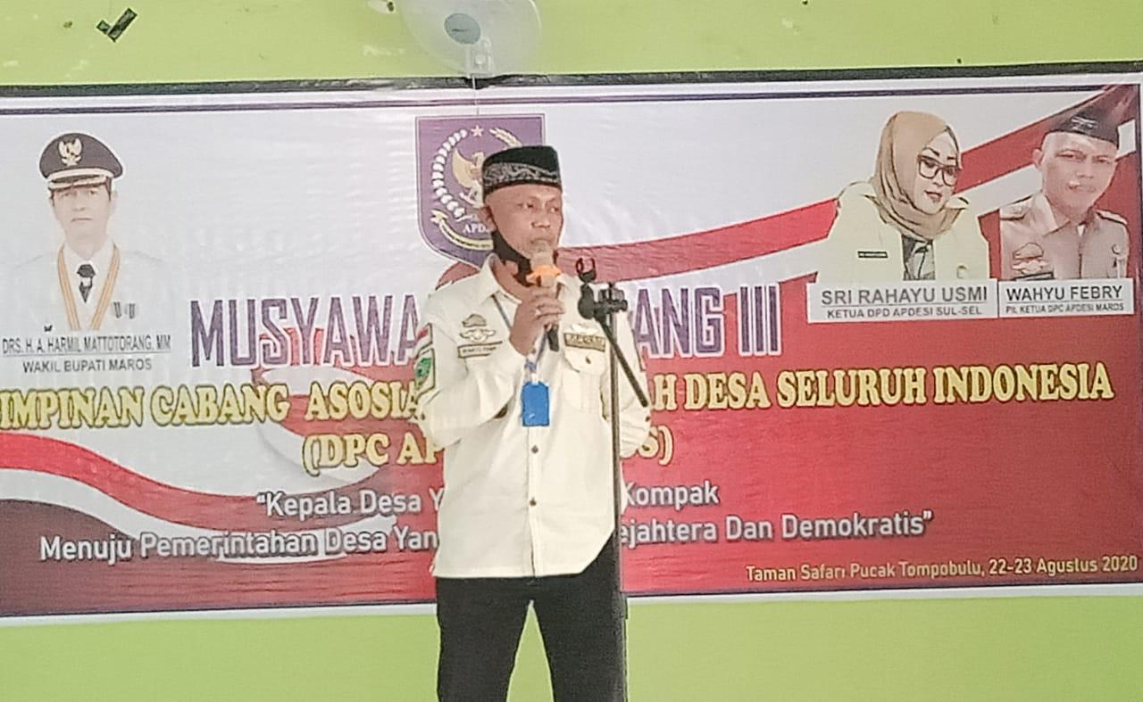 DPC Apdesi Kabupaten Maros Laksanakan Musdah ke-lll Tahun 2020.