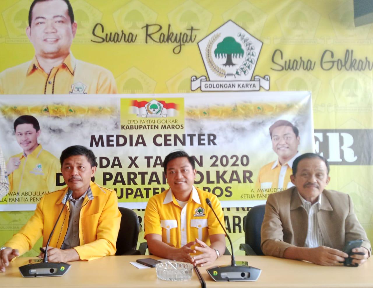 DPD ll Partai Golkar Maros Akan Laksanakan Musda