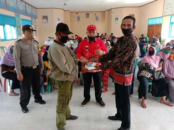 Pekon Padang Dalom Kembali Salurkan BLT DD Tahap II