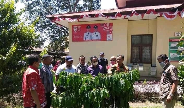 Komisi 1 DPRD Kab.Seluma Provinsi Bengkulu Kunker ke Dinas Perkebunan dan Peternakan Kab.Lambar