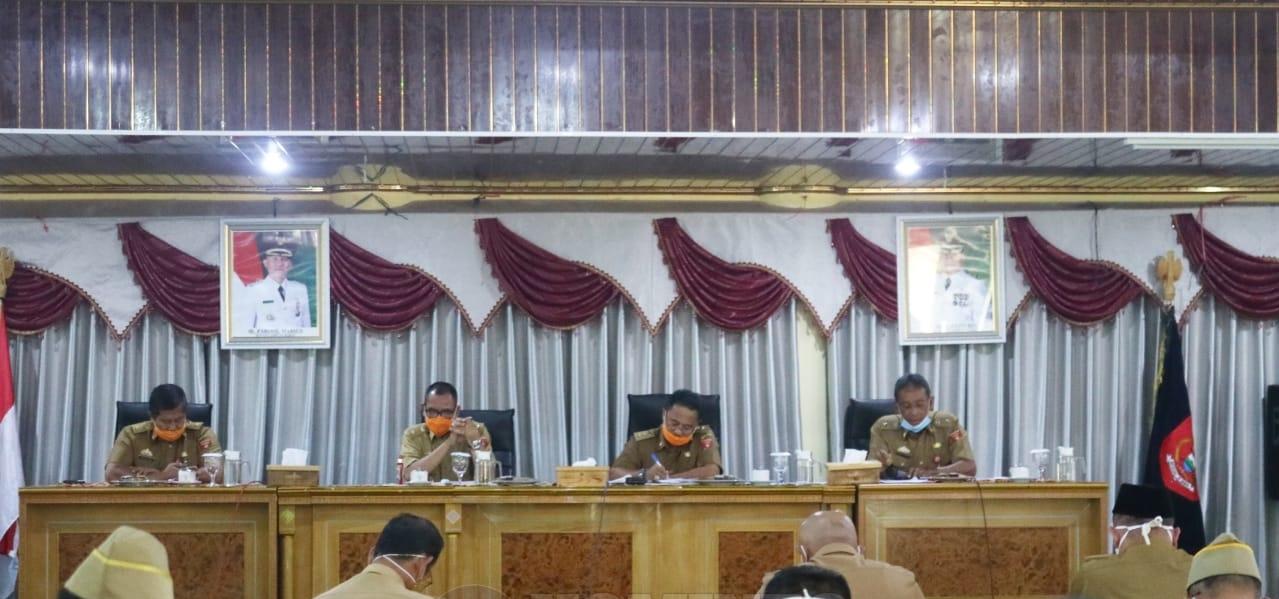 Menyambut UT RI ke-75 Sekda Akmal Meminta Masyarakat Lambar Rayakan Dengan Memasang Bendera dan Umbul-umbul