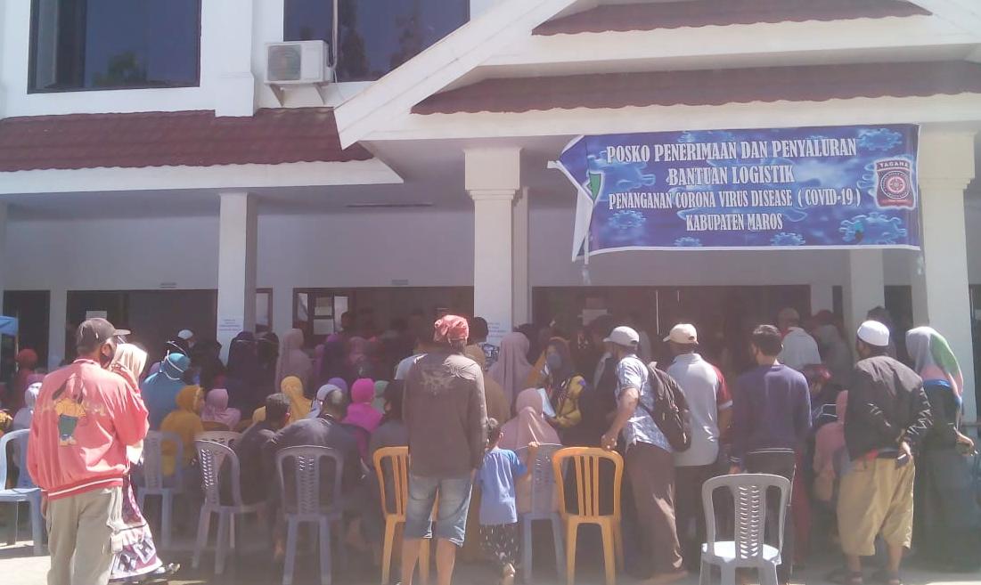 Dinsos Maros Mulai Salurkan BST Tahap IV dan V ke Masyarakat Penerima Mamfaat