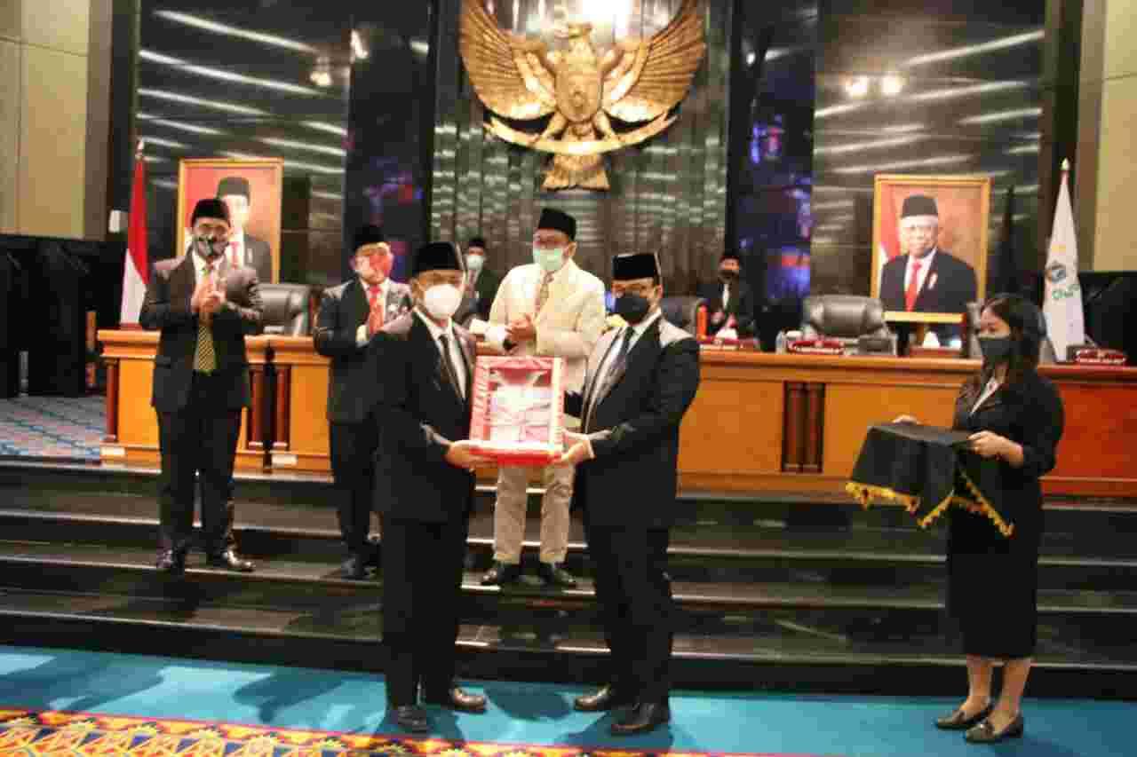 Gubernur Anies Apresiasi DPRD DKI Jakarta Setujui P2APBD 2019 dan Usulan 2 Raperda