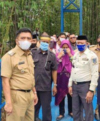 Bupati Maros Hatta Rahman Resmikan Jembatan Lekopancing Kecamat Tanralili