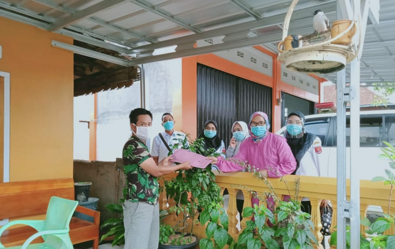 3 Pasien Positif Covid-19 Warga Kelurahan Fajar Bulan Dinyatakan Sembuh
