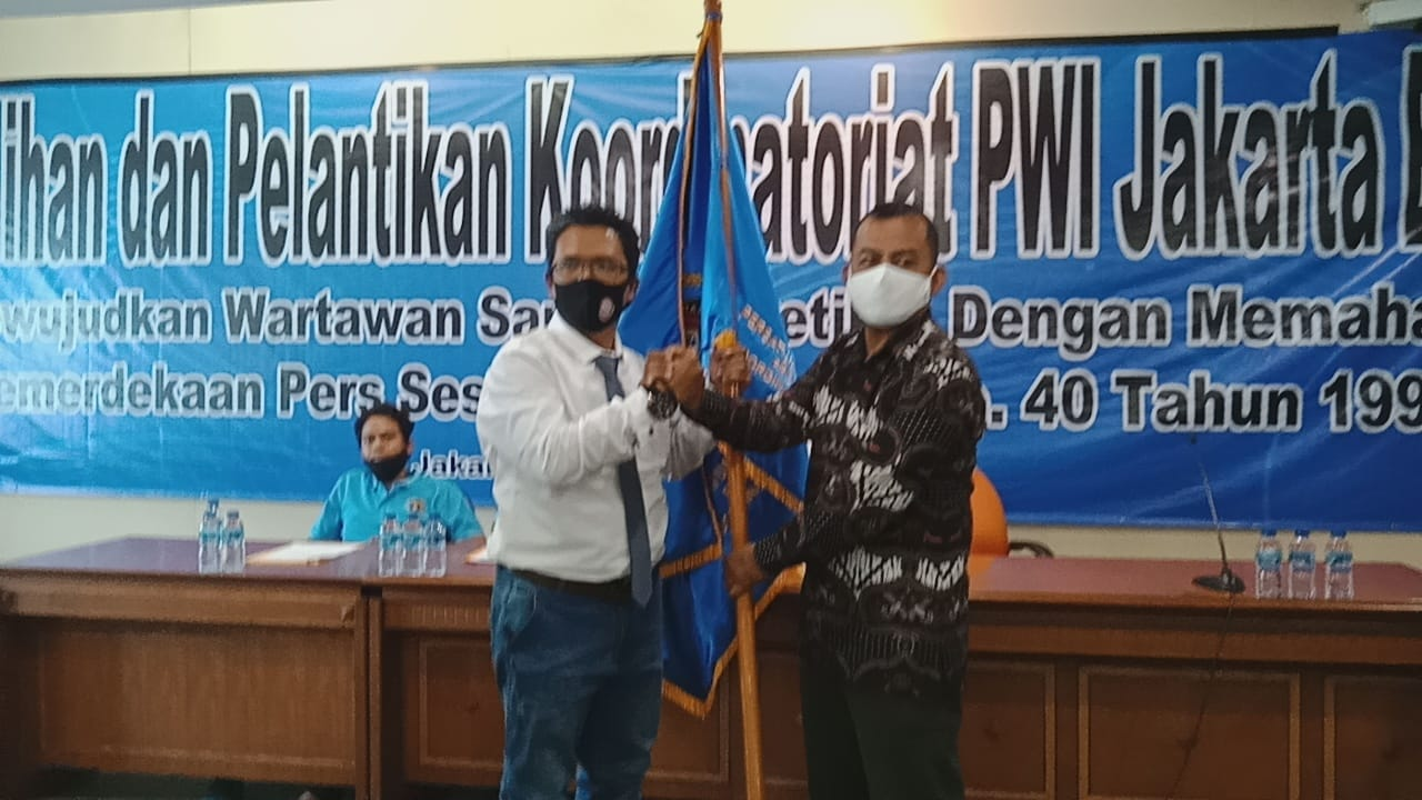 Kornel Sah Pimpin Koordinatoriat PWI Jakarta Barat, Terpilih Secara Aklamasi