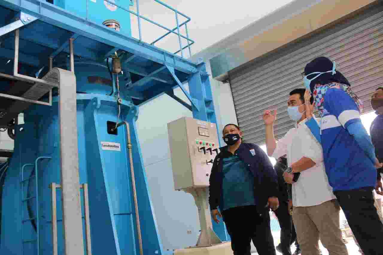 Wagub Ariza Tinjau Kesiapan Fungsi Pompa Dalam Pengendalian Banjir