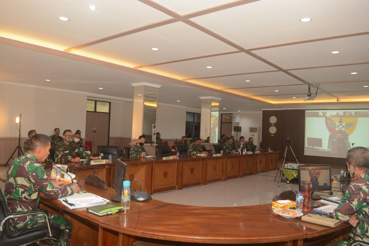 Jelang Pilkada di Provinsi Bali, Pangdam IX/Udayana Terima Laporan Kesiapan Danrem 163/WSA dan Jajarannya
